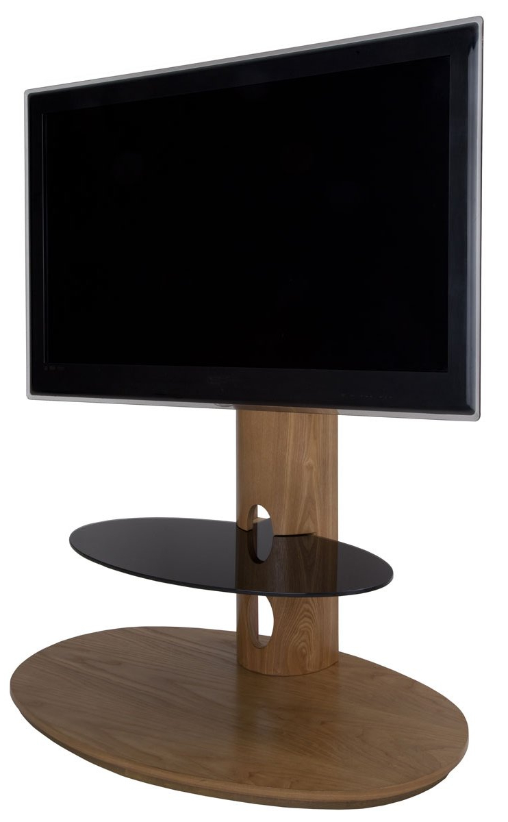 Newest Cantilever Tv Stands Within Avf Chepstow Oak Cantilever Tv Stand (View 16 of 20)