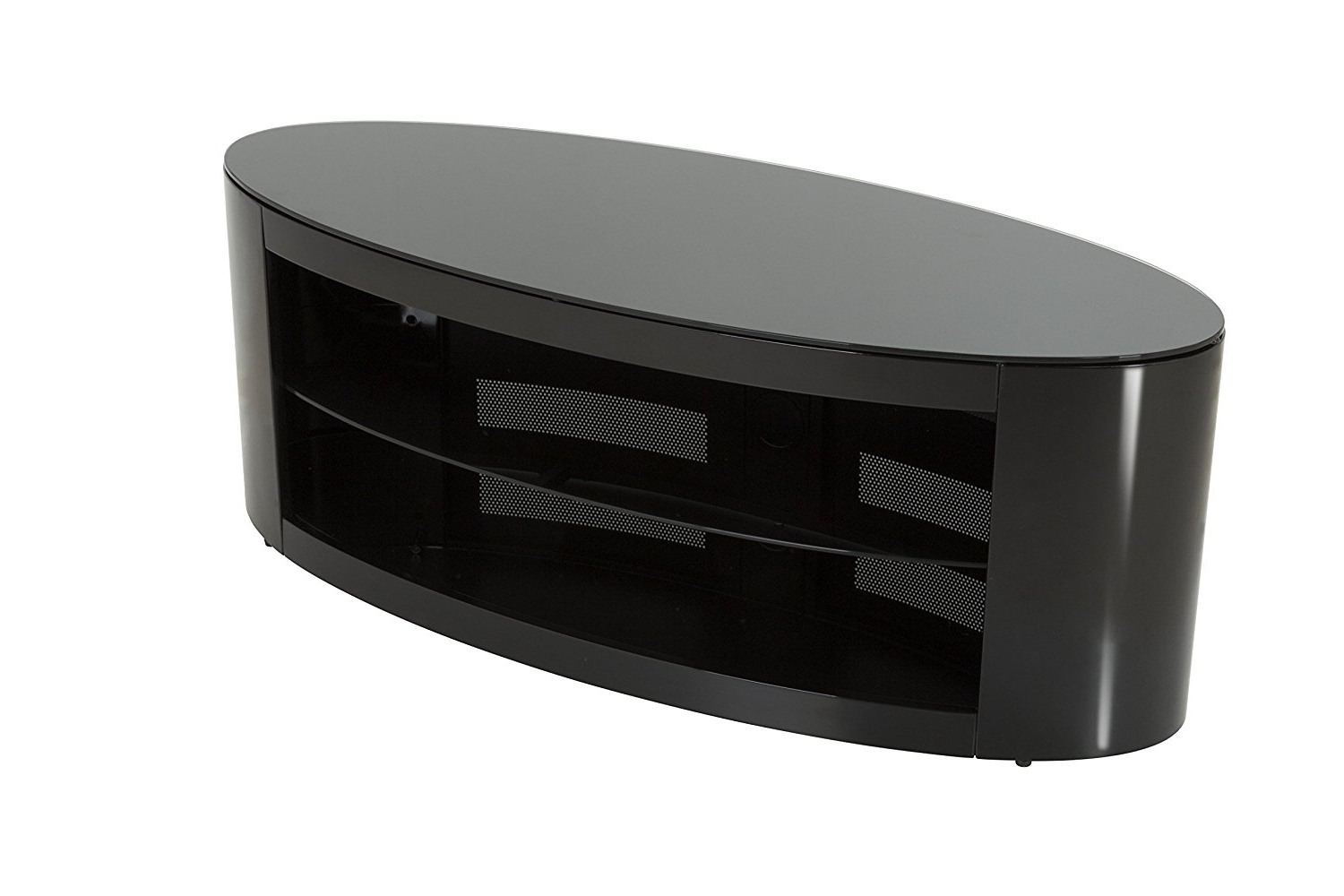 Newest Cheap Black Oval Tv Stand, Find Black Oval Tv Stand Deals On Line At With Regard To Oval White Tv Stands (View 10 of 20)