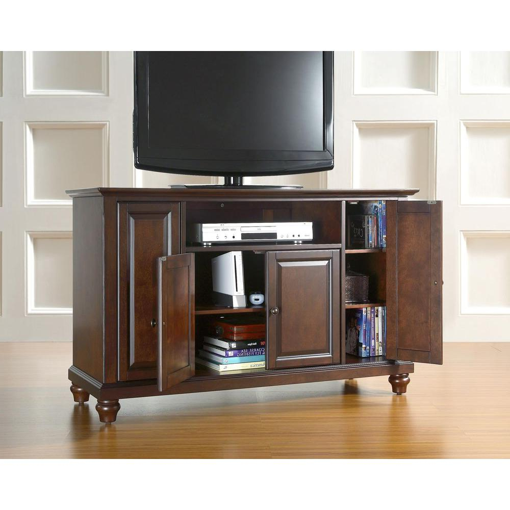 Newest Classic – White – Tv Stands – Living Room Furniture – The Home Depot Pertaining To Classic Tv Stands (View 18 of 20)