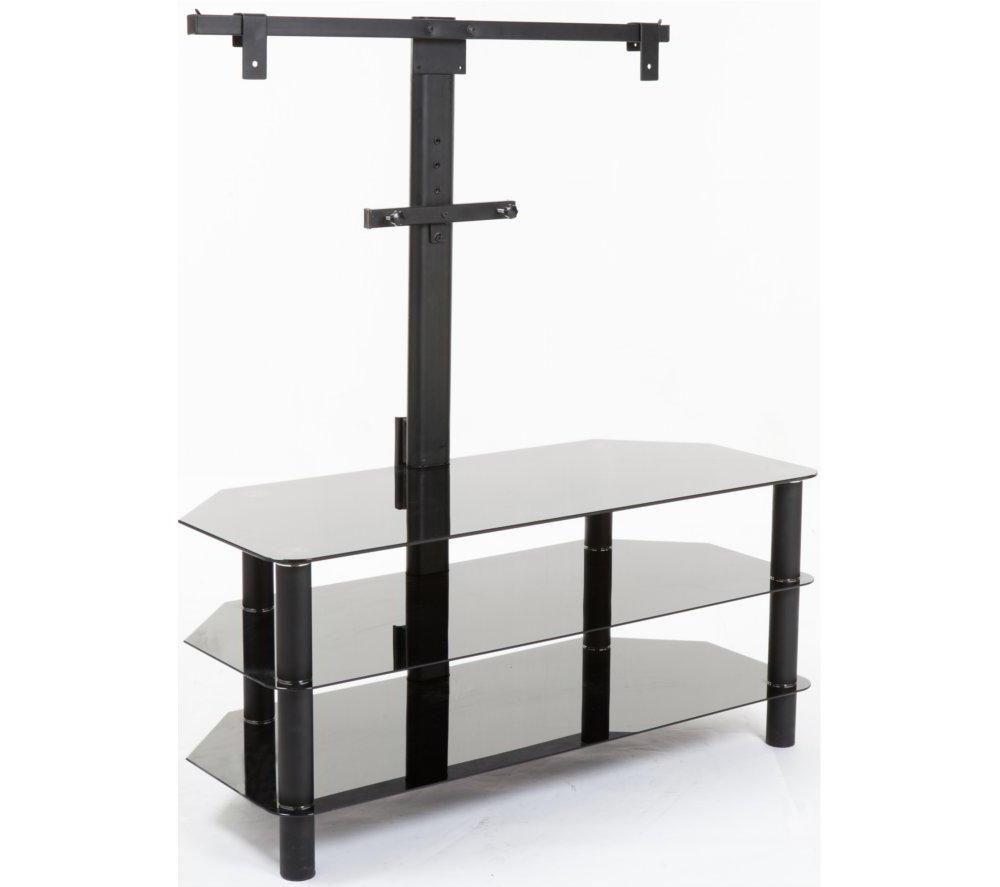 Newest Glass Stand Corner Ideas Living Kitchen Room Shelf Under Pretty Regarding Dwell Tv Stands (View 20 of 20)