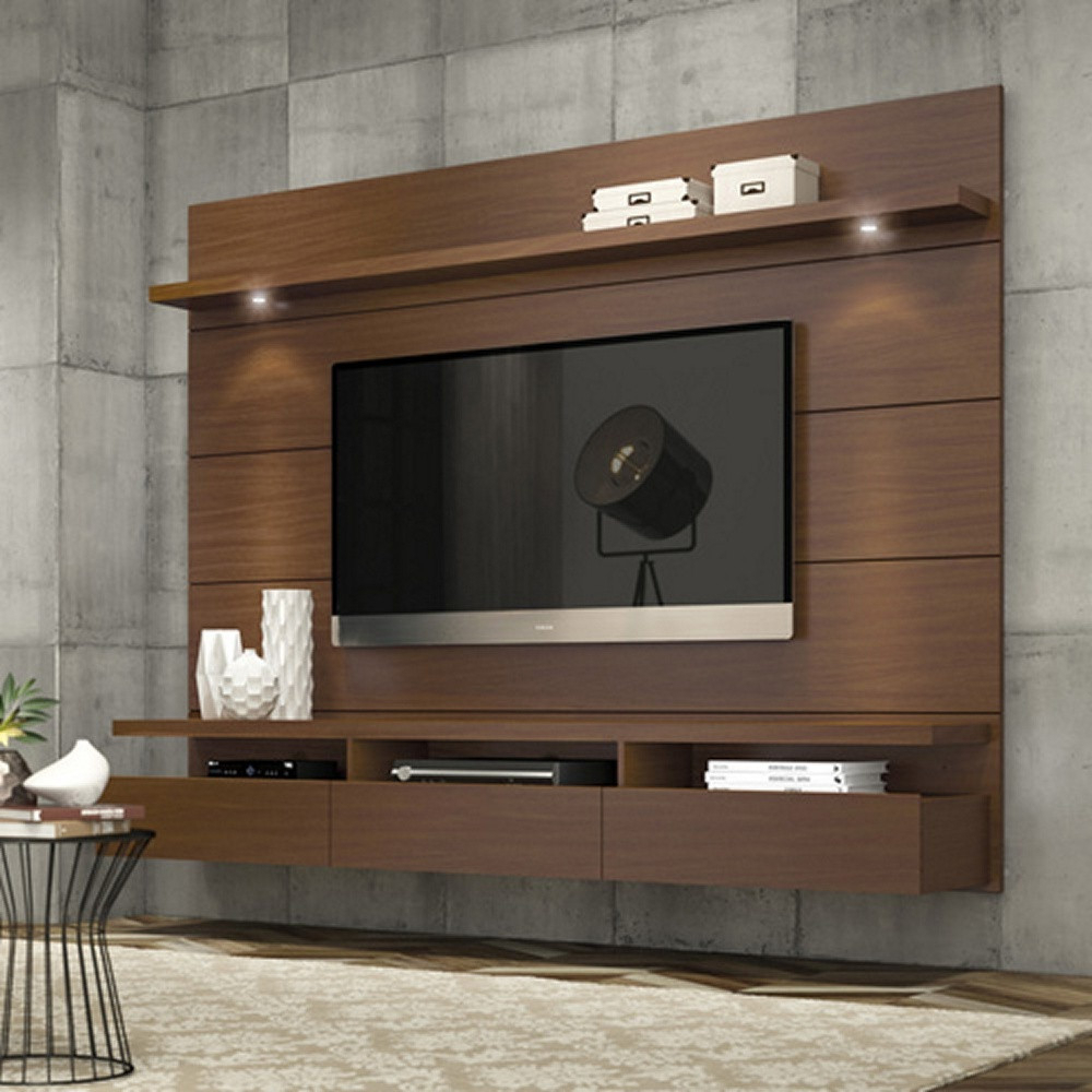 Newest Metal Wall Mounted Tv Cabinet : Wall Mounted Tv Cabinet Design With Regard To Wall Display Units And Tv Cabinets (View 10 of 20)