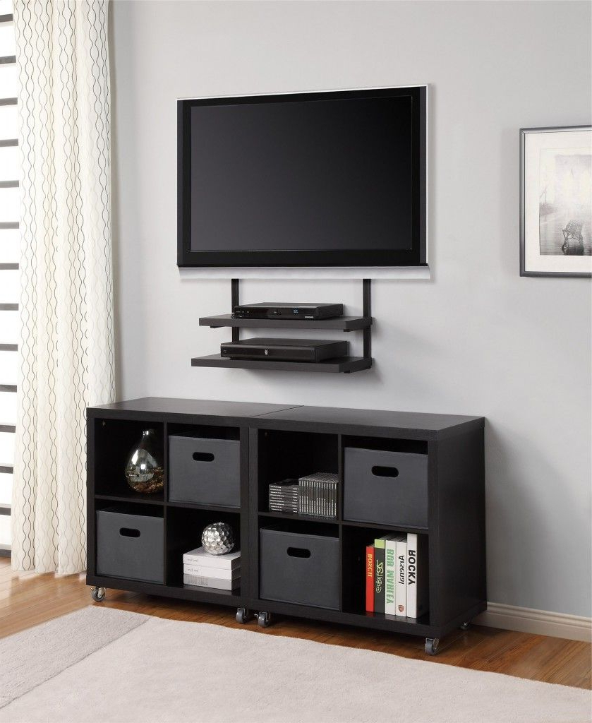 Newest Modern Tv Stands With Mount Intended For 18 Chic And Modern Tv Wall Mount Ideas For Living Room (Gallery 3 of 20)