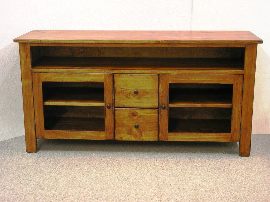Newest Rustic Red Tv Stands With Best Rustic Tv Stand Designs — Home Design Styling (View 7 of 20)
