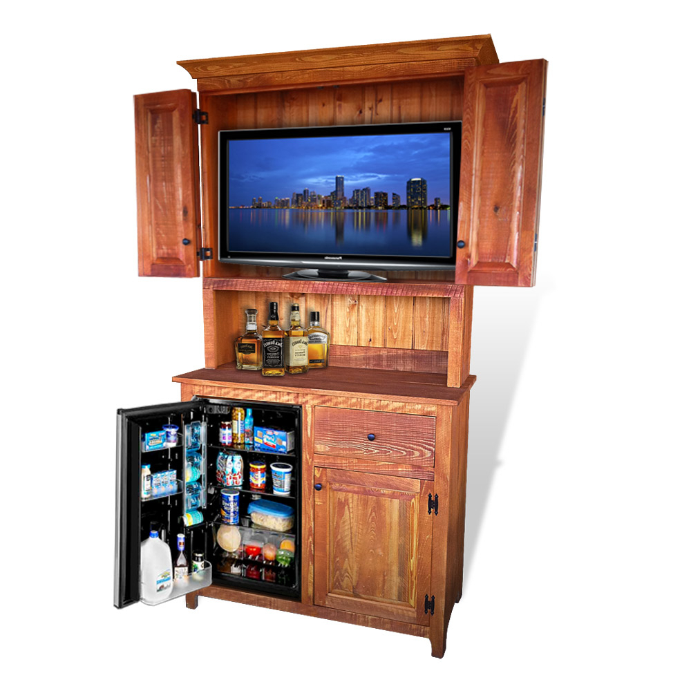 Newest Rustic Wood Tv Cabinets Within Rustic Shaker Outdoor Tv Stand No 2 (Gallery 7 of 20)