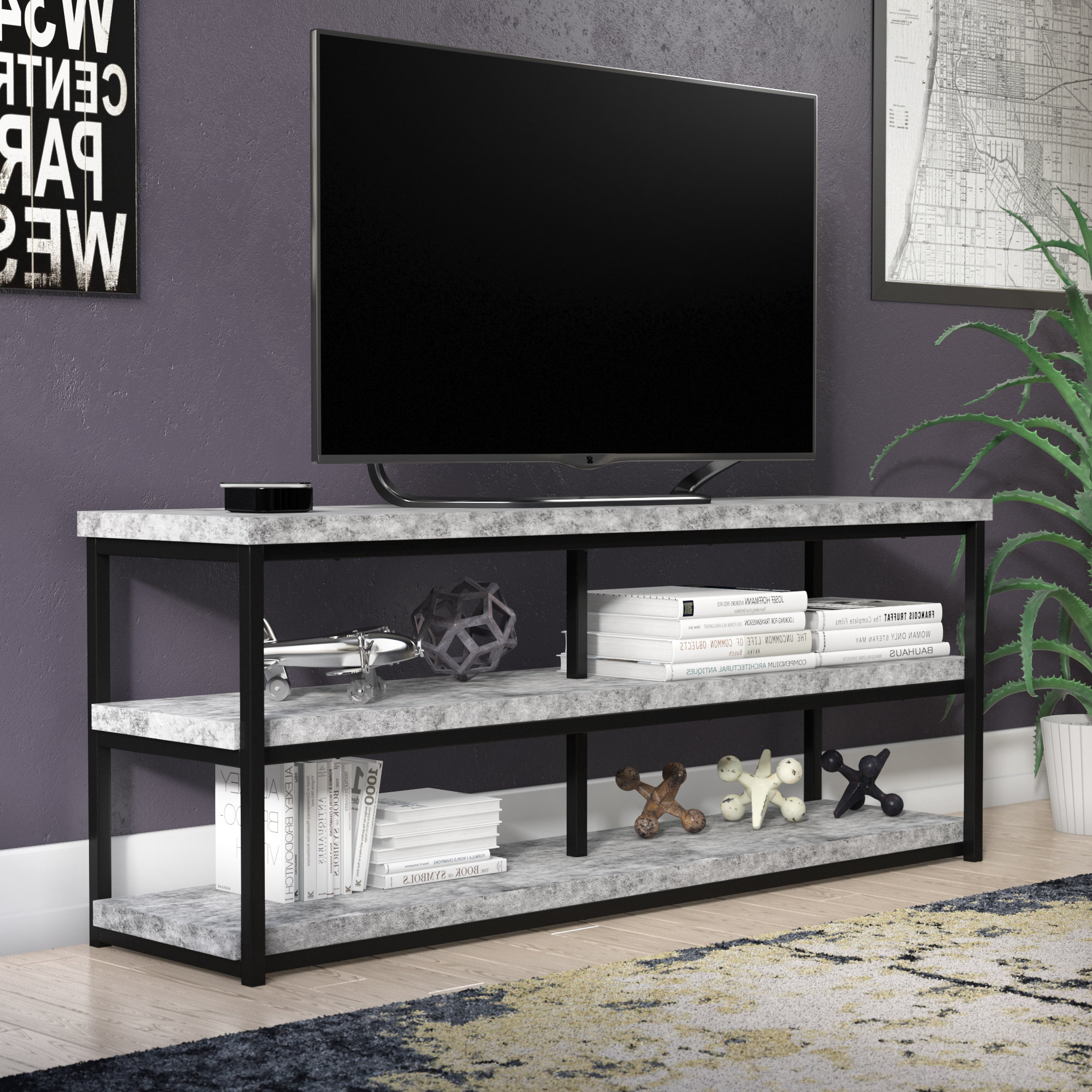 "Newest Trent Austin Design Micaela Tv Stand For Tvs Up To 65"" & Reviews With Comet Tv Stands (Gallery 14 of 20)"