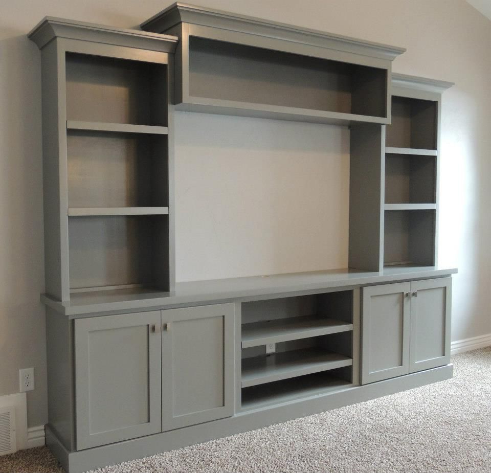 Newest Tv Entertainment Wall Units Throughout 17 Diy Entertainment Center Ideas And Designs For Your New Home (Gallery 6 of 20)