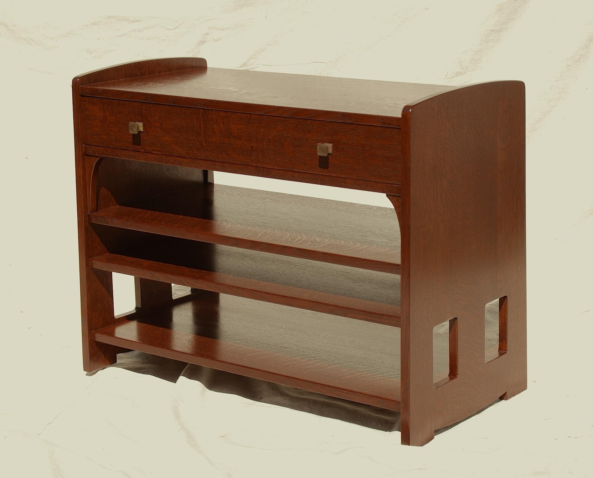 Newest Voorhees Craftsman Mission Oak Furniture – Voorhees Craftsman Throughout Oak Furniture Tv Stands (Gallery 18 of 20)