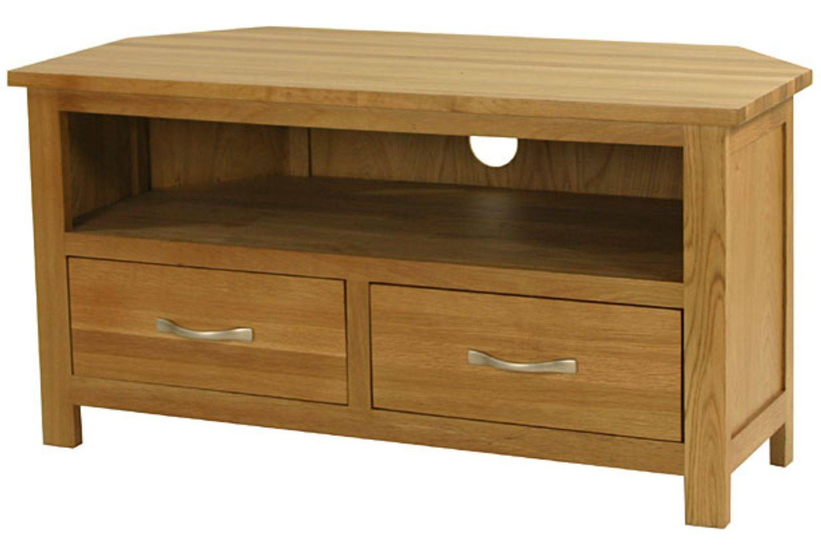 Nursing Home Furniture Corner Tv Unit From Hill & Hill Design In Newest Solid Oak Corner Tv Cabinets (View 3 of 20)