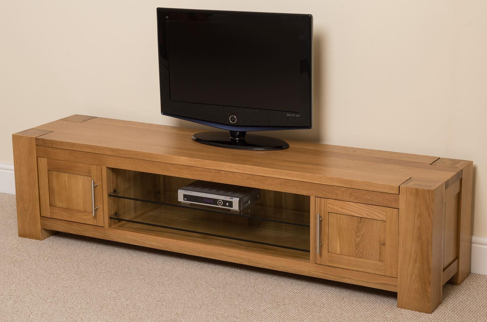 Oak Furniture King Within Oak Widescreen Tv Units (View 3 of 20)