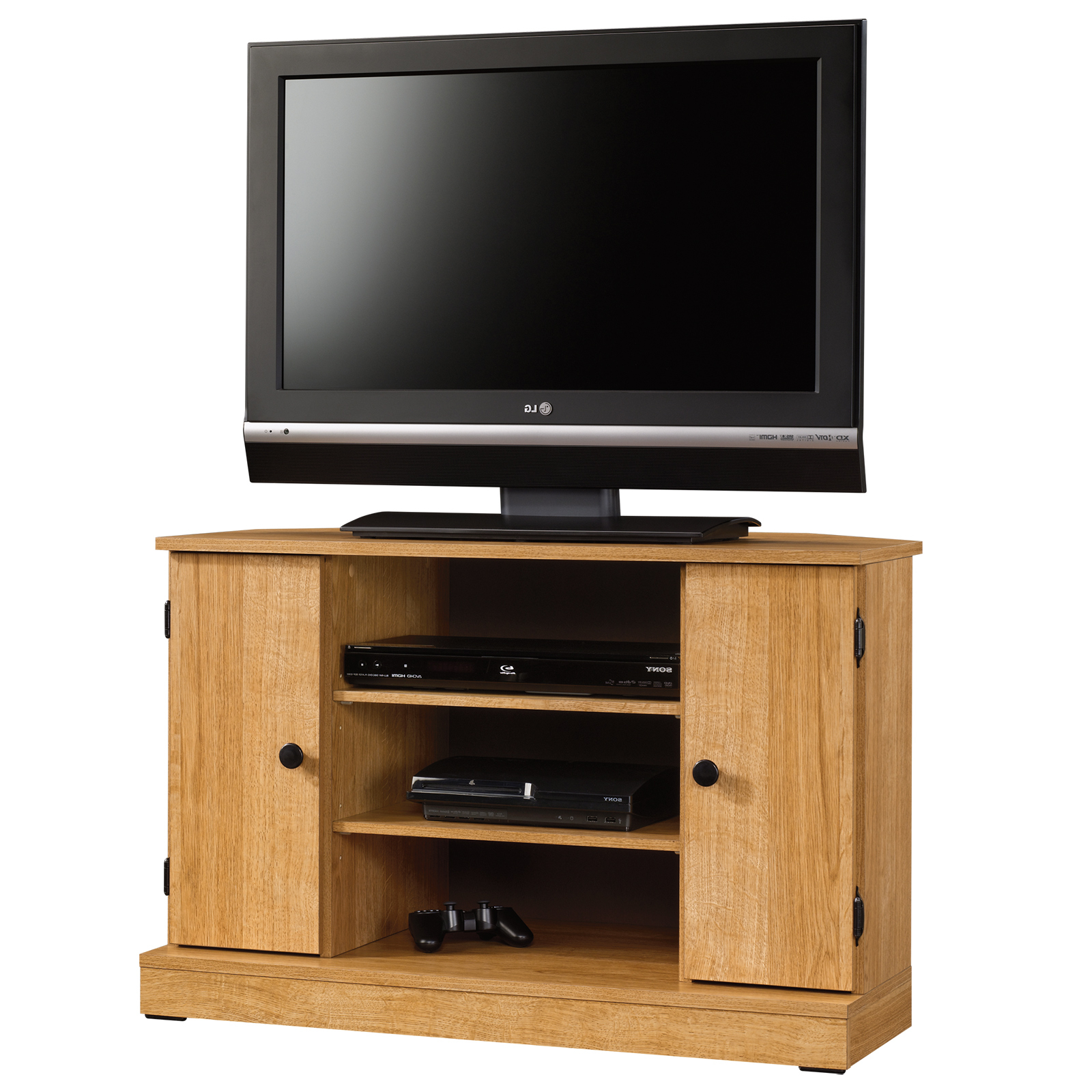 Oak Tv Cabinets With Regard To Latest Beginnings (View 11 of 20)