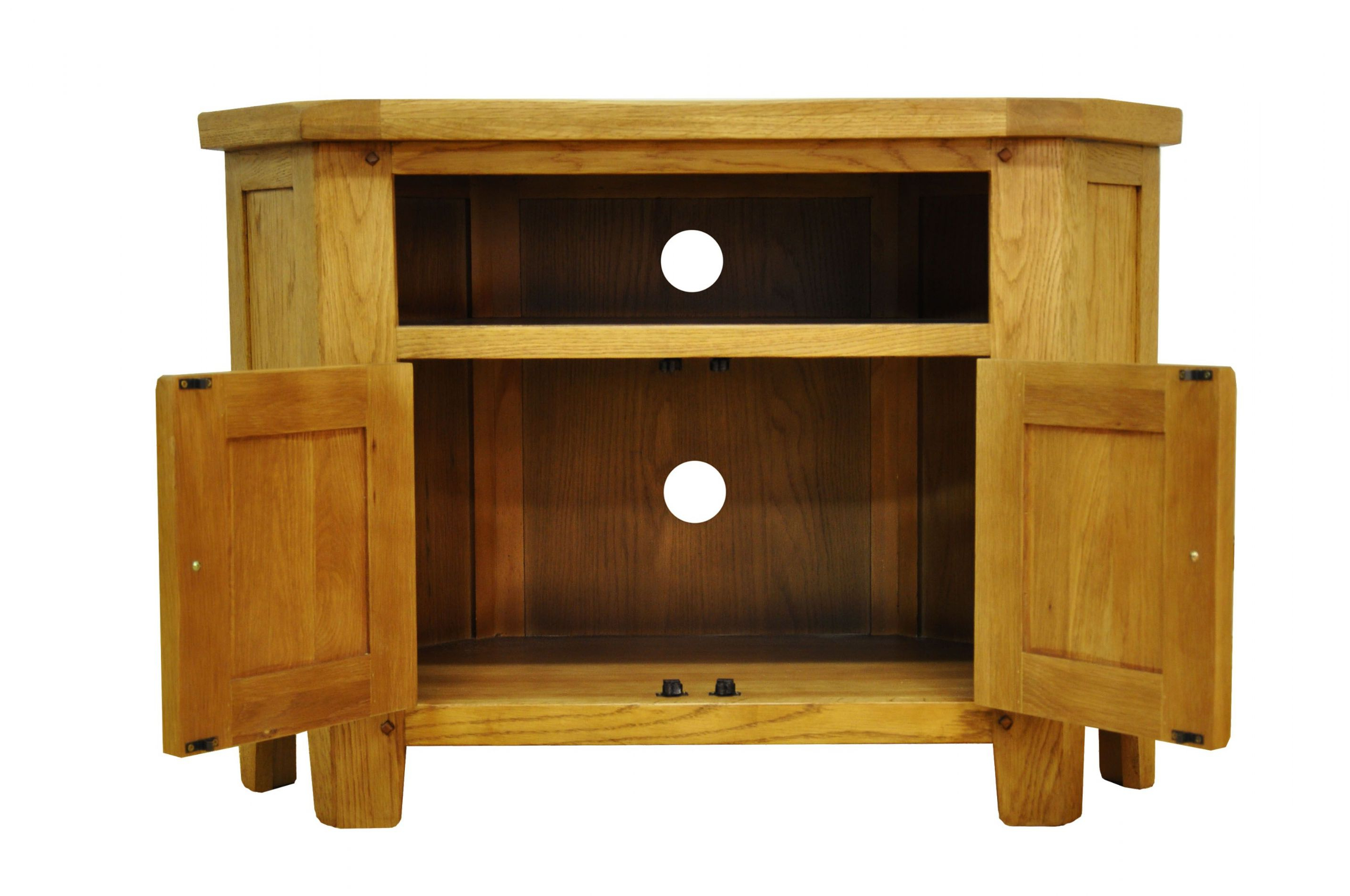 Oak Tv Stand Walmart Solid Wood Stands For Flat Screens Light Pertaining To Recent Light Oak Corner Tv Cabinets (View 13 of 20)