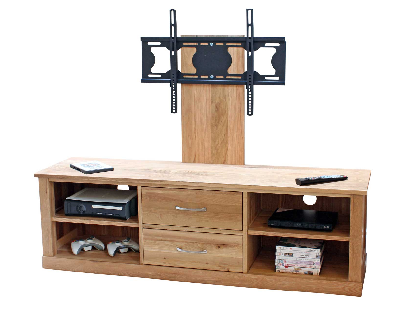 Oak Tv Stands For Flat Screens Intended For Newest Cool Flat Screen Tv Stands With Mount (Gallery 6 of 20)