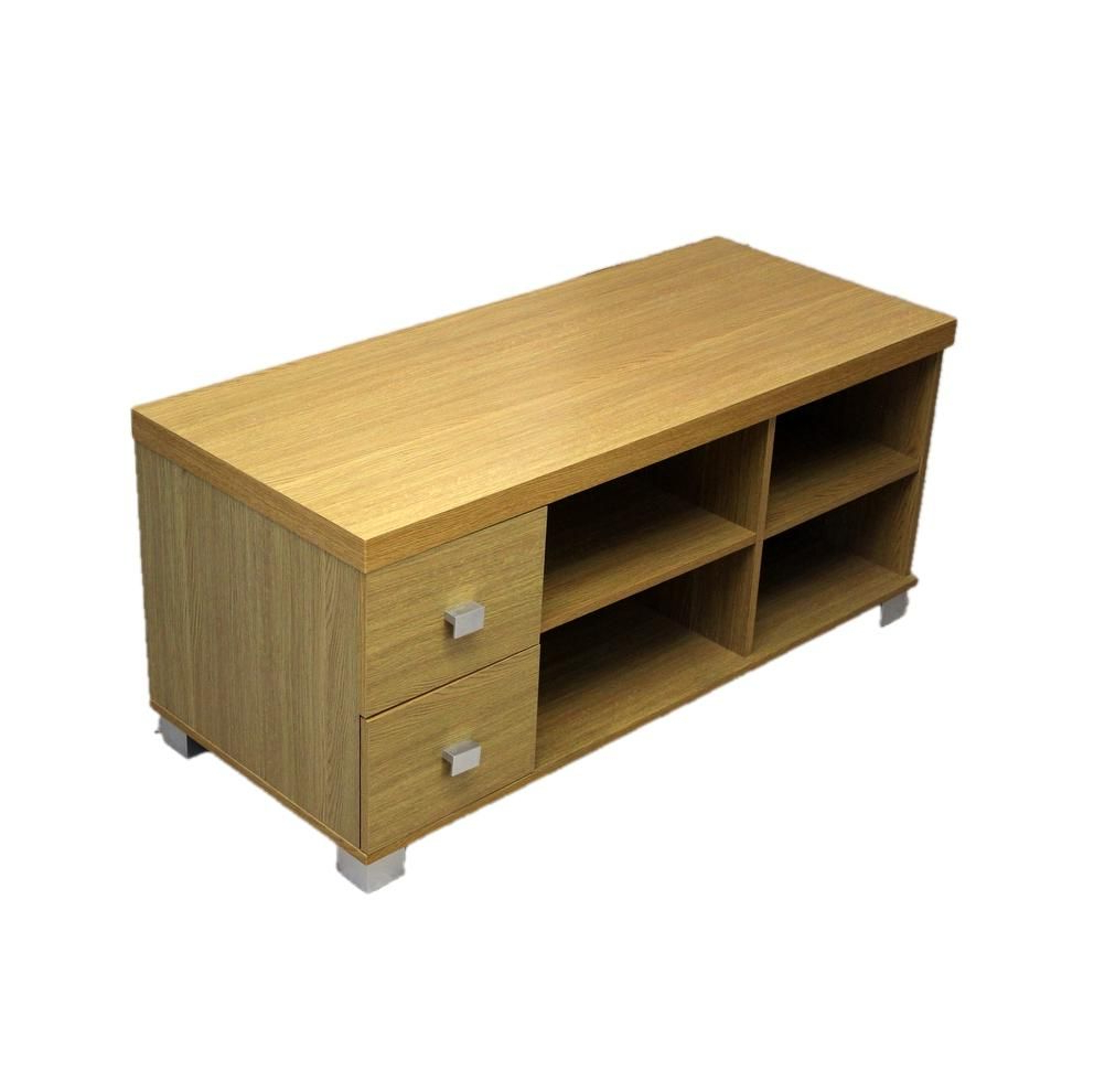 Oak Veneer Tv Stands For Well Liked Contemporary Oak Veneer Tv Stand (View 3 of 20)