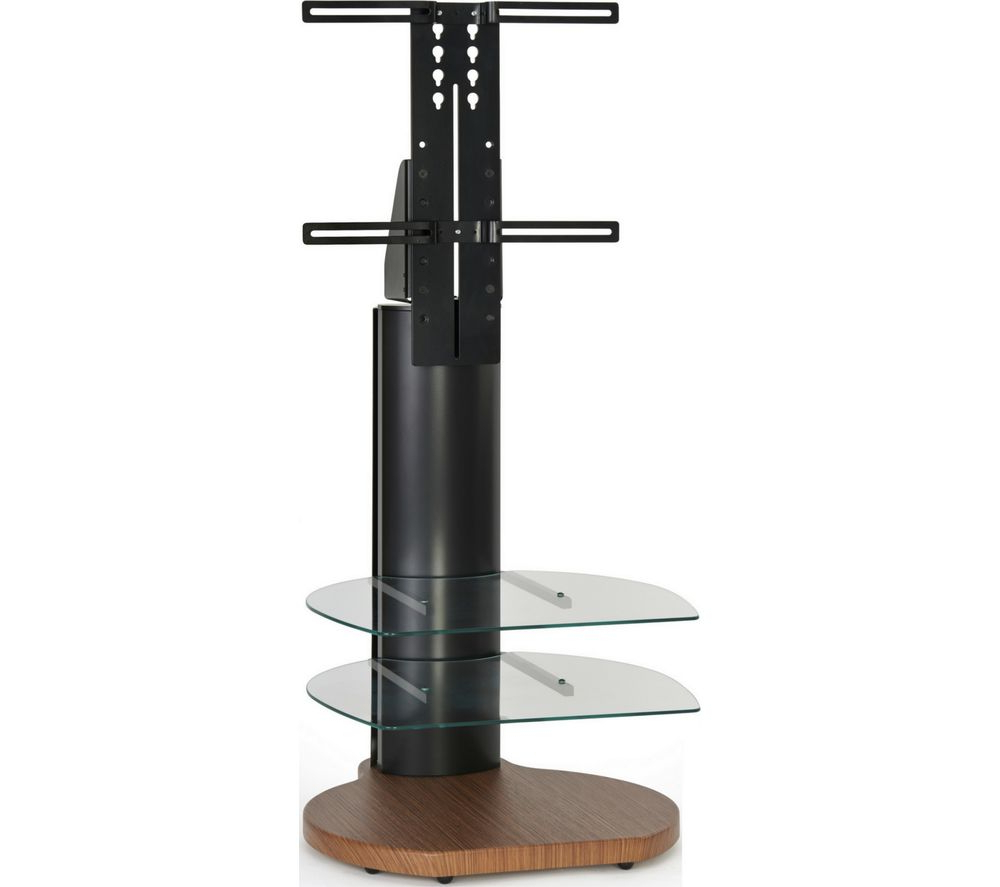 Off The Wall Origin Ii S4 500 Mm Tv Stand With Bracket – Dark Wood In Most Recent Off Wall Tv Stands (View 11 of 20)