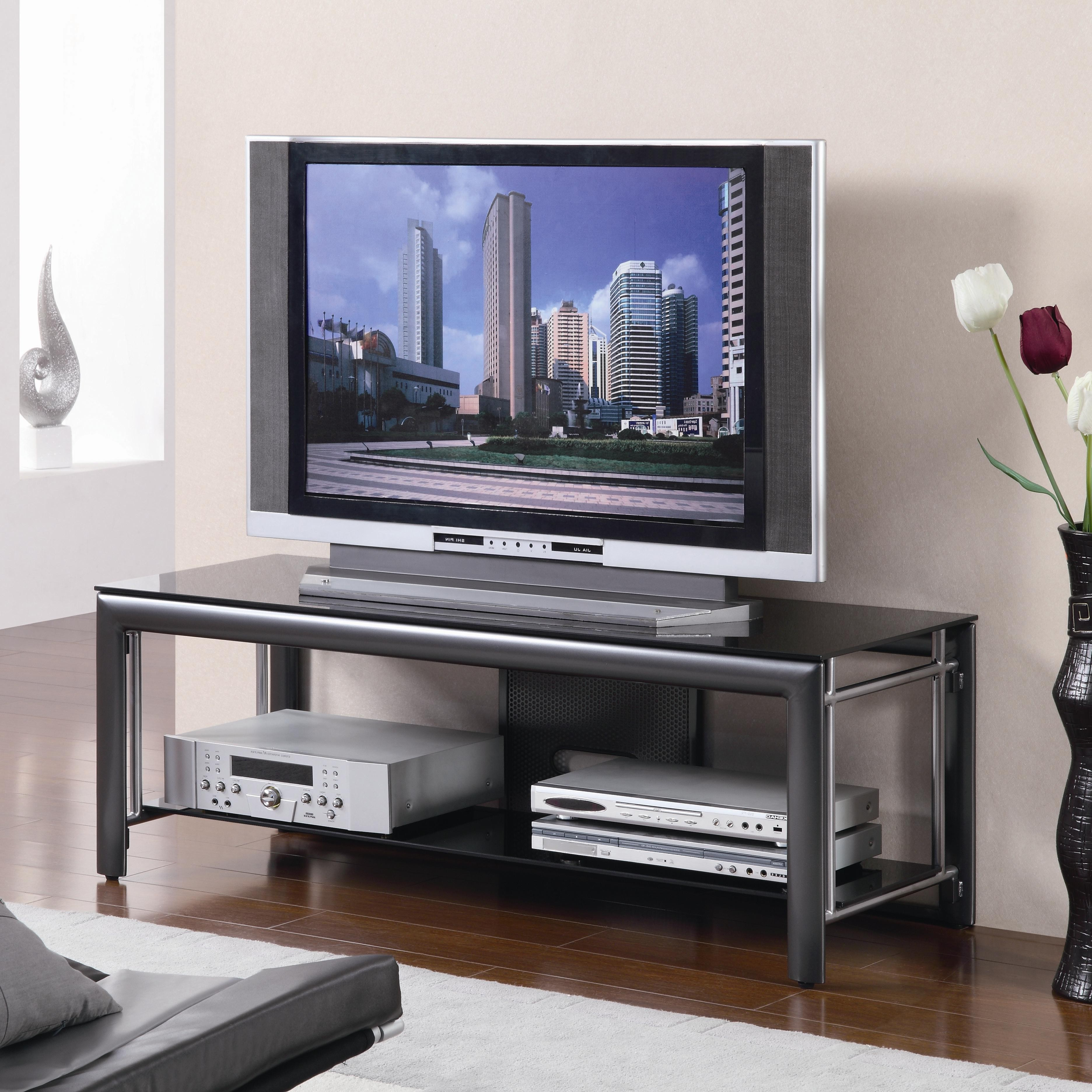 "Open Shelf Tv Stands Throughout Well Liked Tv Stands 55"" Open Shelf Tv Console Lowest Price – Sofa, Sectional (Gallery 1 of 20)"