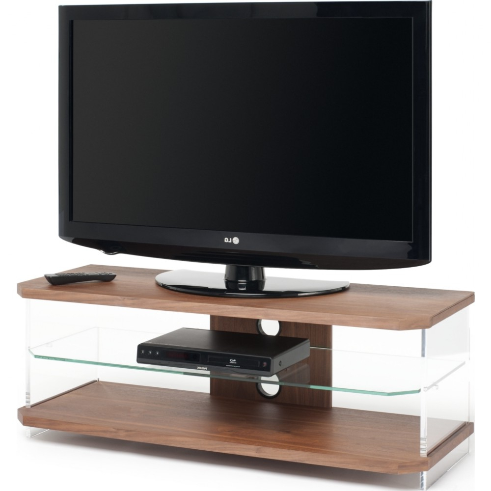 Optically Clear Side Panels; Screens Up To 55 Pertaining To Preferred Techlink Echo Ec130Tvb Tv Stands (Gallery 5 of 20)