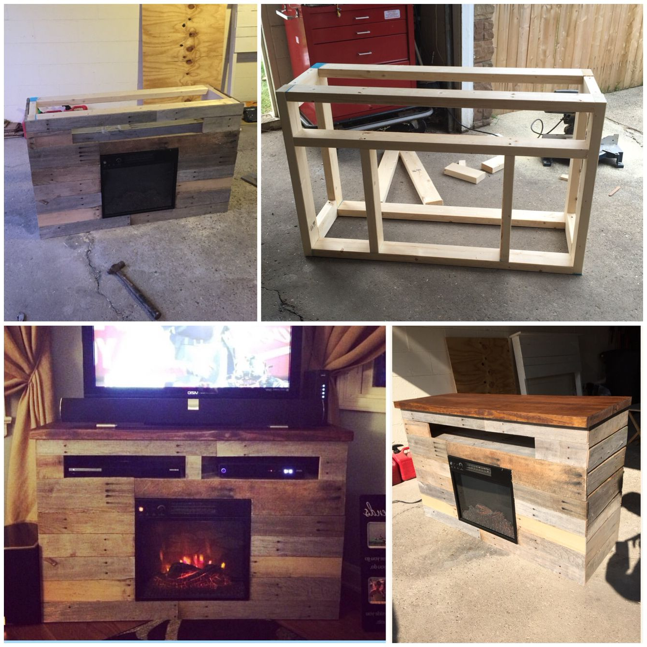 Pallet Tv Stands & Entertainment Centers (View 15 of 20)