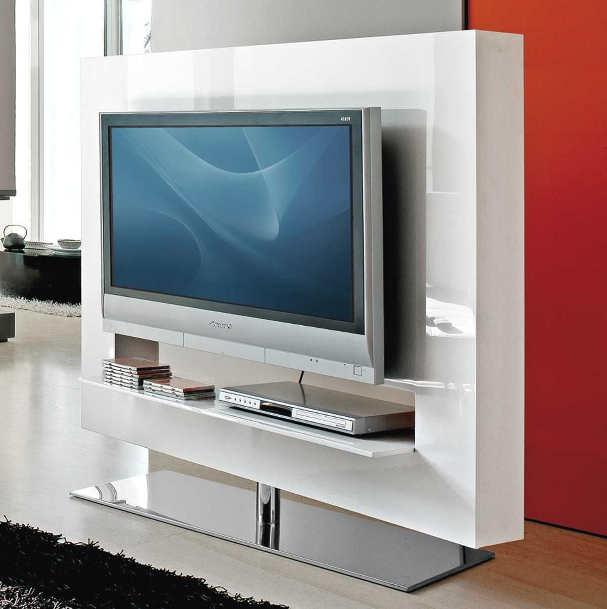 Panorama Tv Stands Inside Most Popular Panorama Swivel Tv Stand – Arredaclick (View 13 of 20)