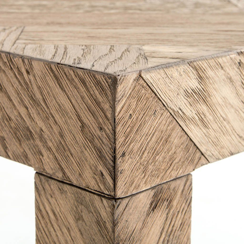 Parsons Travertine Top & Dark Steel Base 48X16 Console Tables For Favorite Lamar Console Table (View 11 of 20)