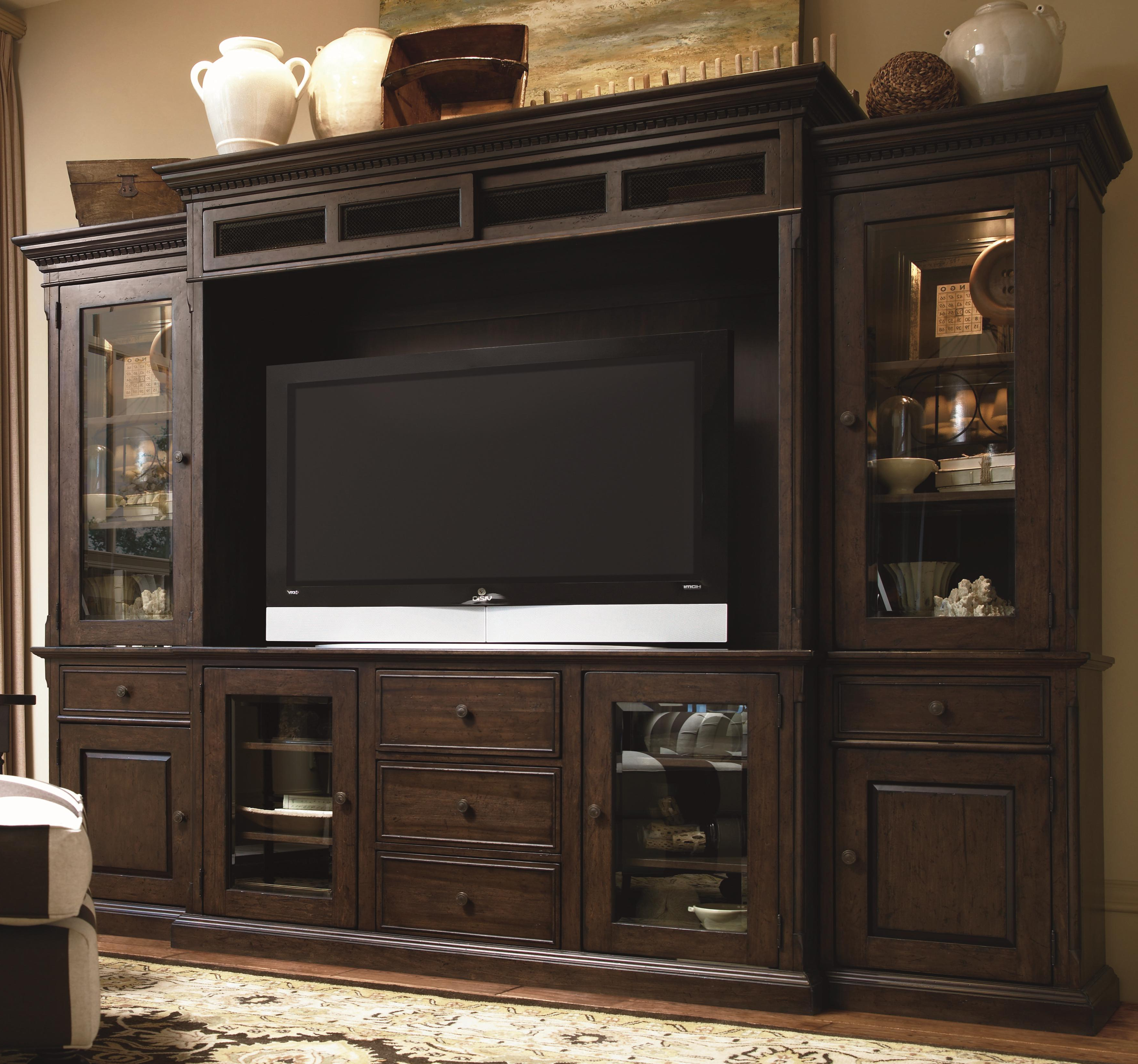 Paula Deenuniversal Down Home 193966He Entertainment Console Within Most Recent Tv Entertainment Wall Units (Gallery 4 of 20)