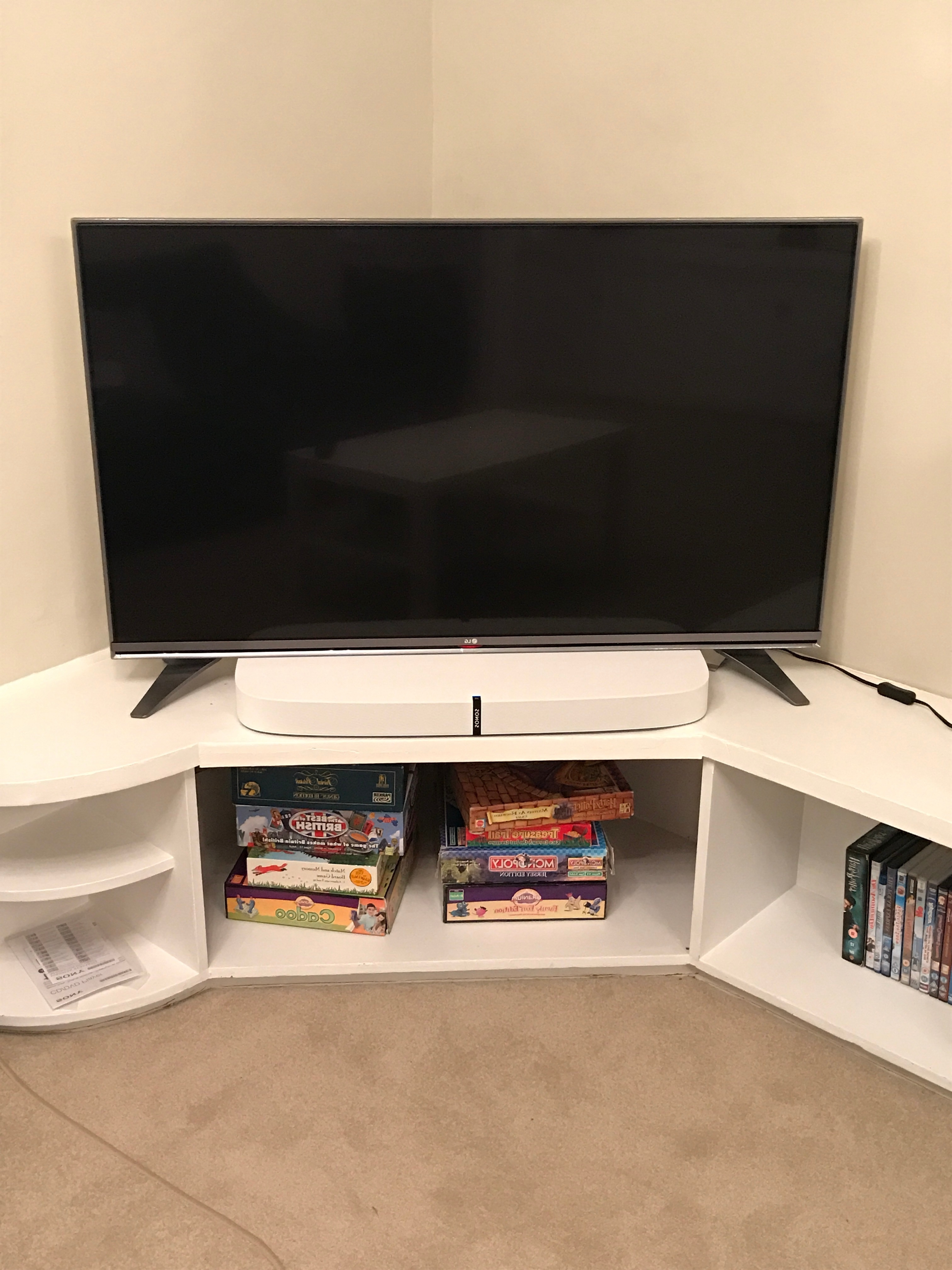Photos Of Playbase On Tv With Outer Stands? (View 5 of 20)