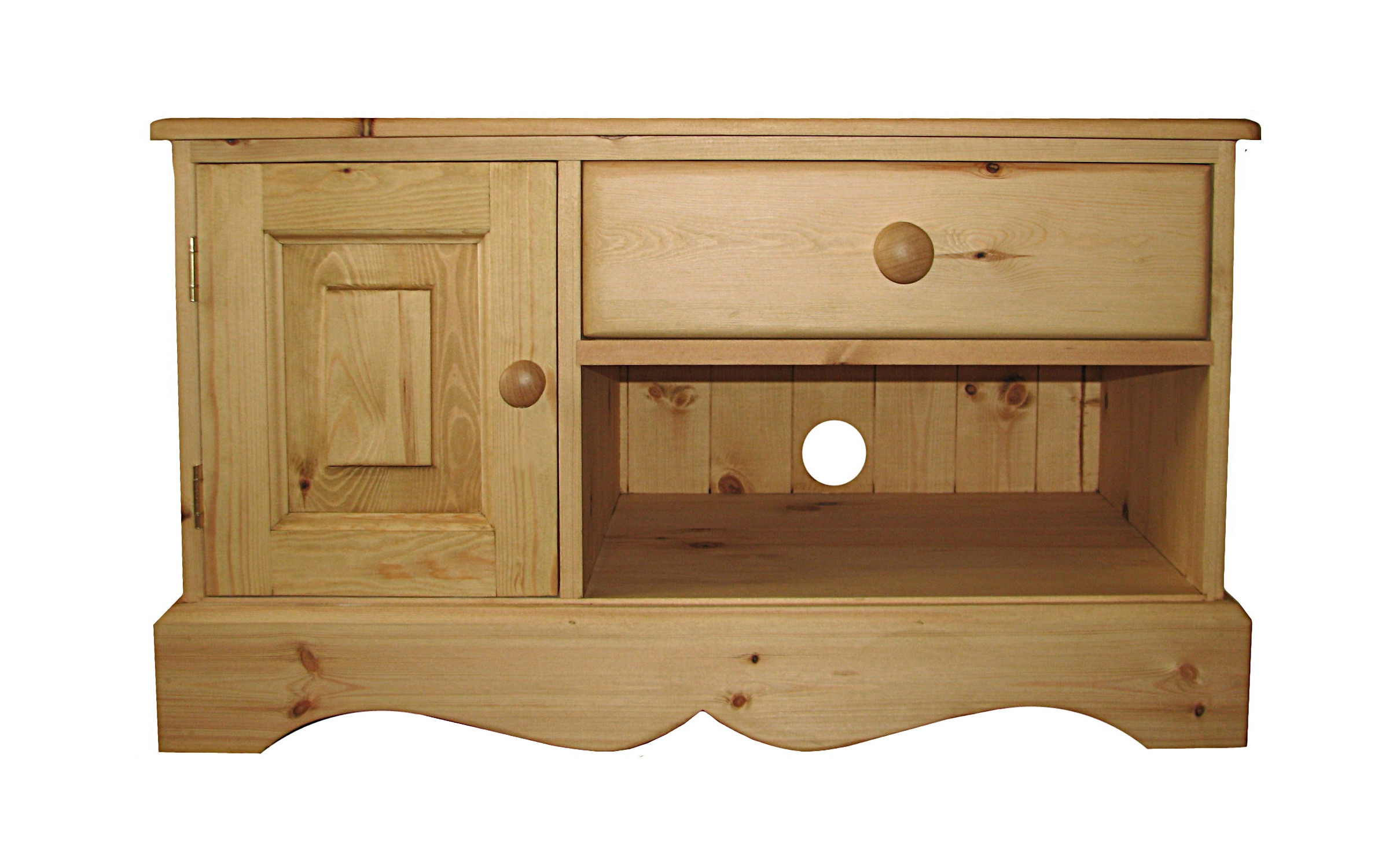 Pine Tv Cabinets Within Popular Tv Stands – Kerris Farmhouse Pine (View 9 of 20)