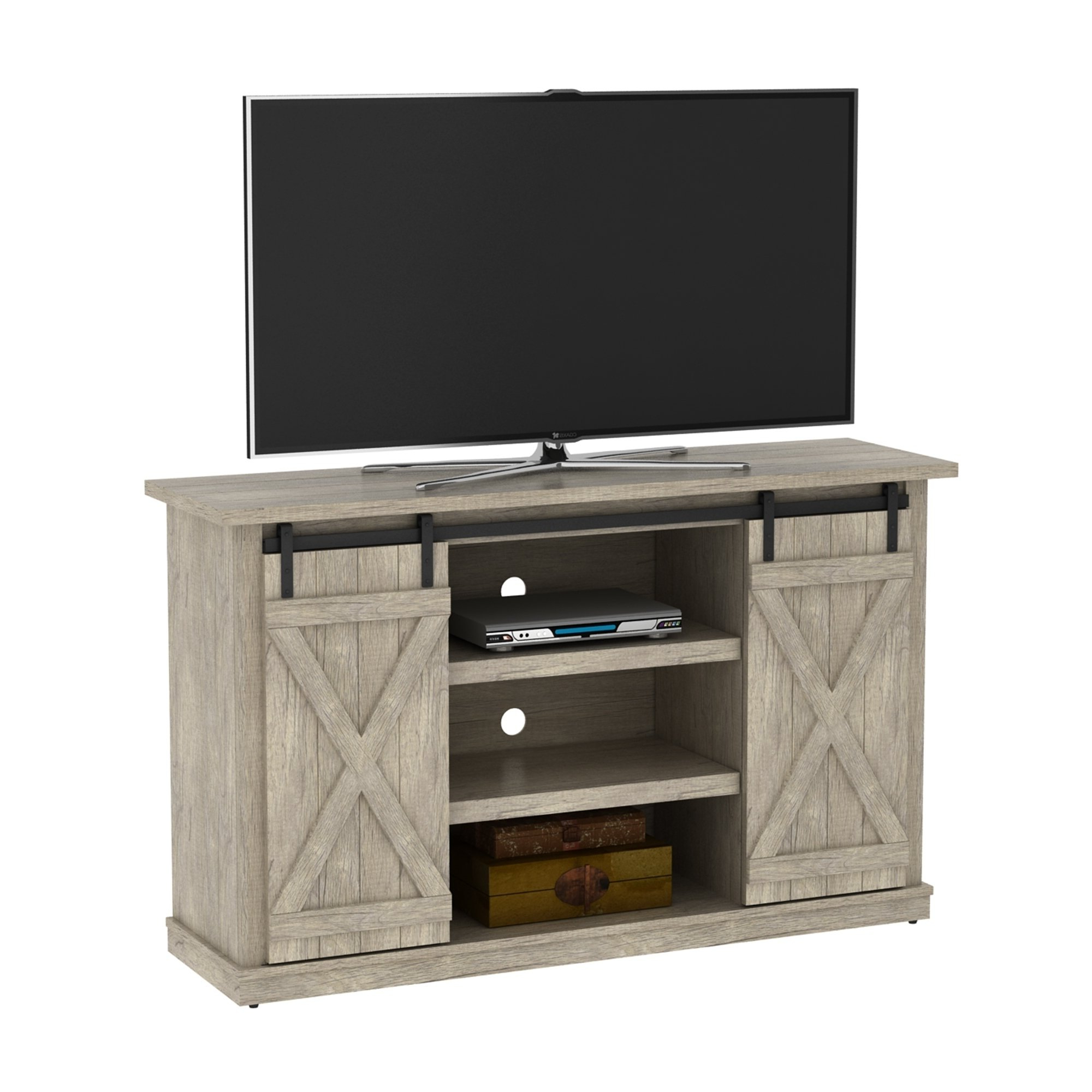 Pine Tv Stands Regarding Trendy Shop Cottonwood Tv Stand For Tvs Up To 60 Inches, Ashland Pine (Gallery 16 of 20)