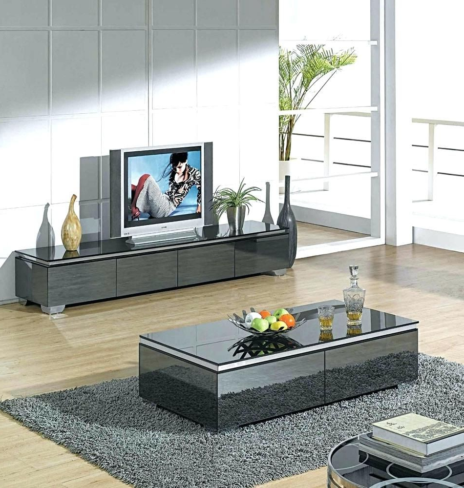 Pineasy Wood Projects On Modern Home Interior Ideas In 2018 Regarding Latest Tv Stand Coffee Table Sets (Gallery 1 of 20)