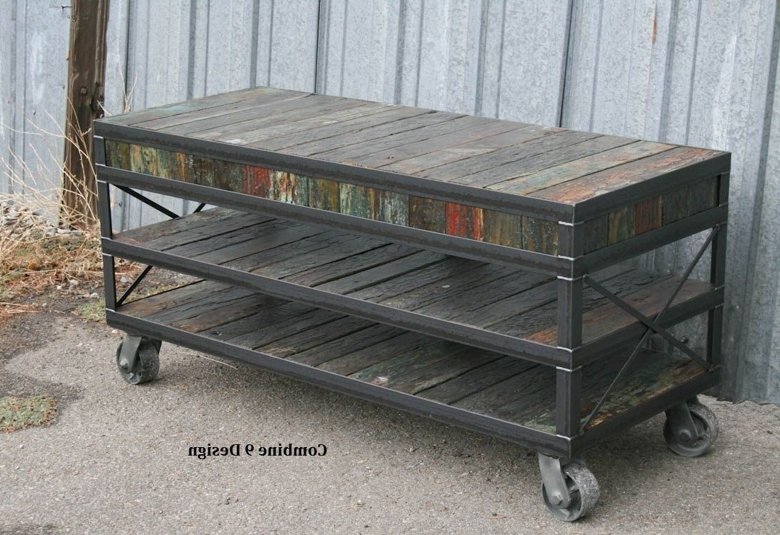 Pinterest Within Vintage Industrial Tv Stands (View 6 of 20)