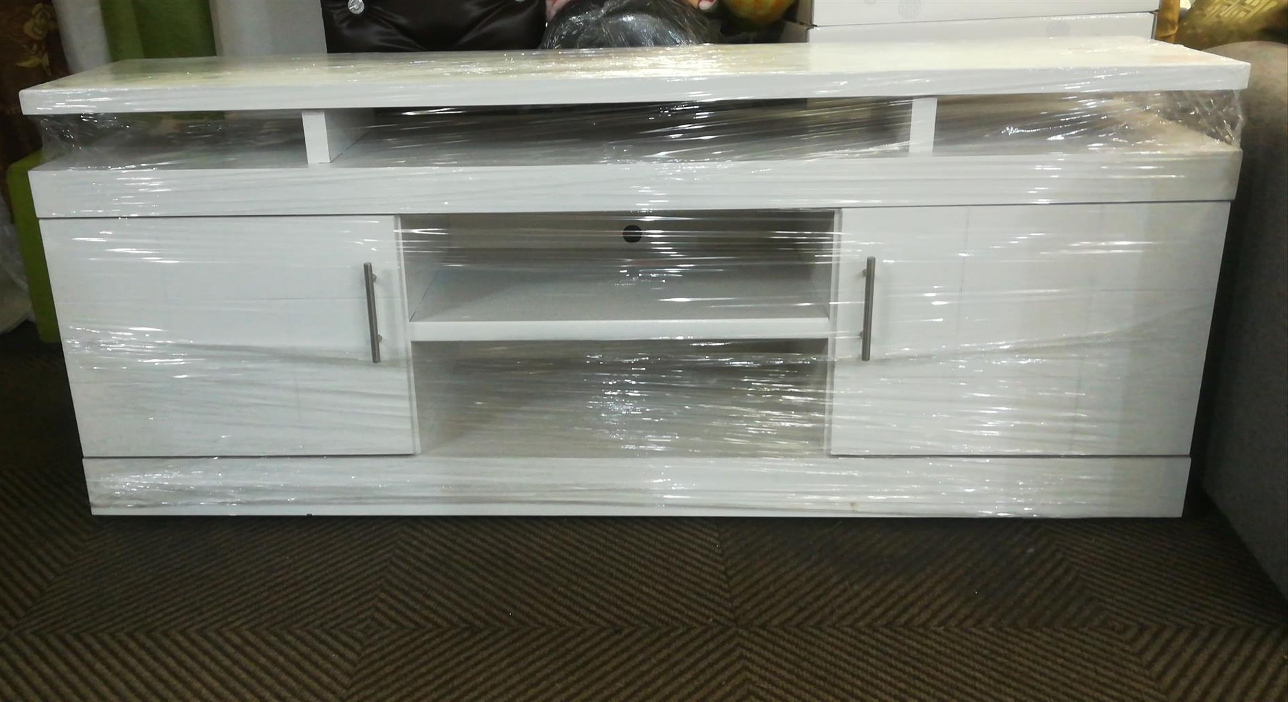 Plasma Tv Stands With Regard To Most Recent New White Wooden Plasma Tv Stand (View 16 of 20)