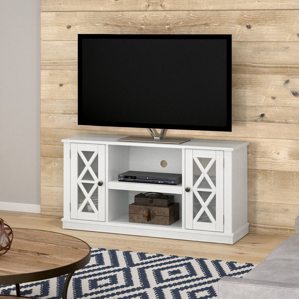 """Playroom Tv Stands Inside Most Recently Released Emelia Tv Stand For Tvs Up To 55"""" With Optional Fireplace & Reviews (View 13 of 20)"""