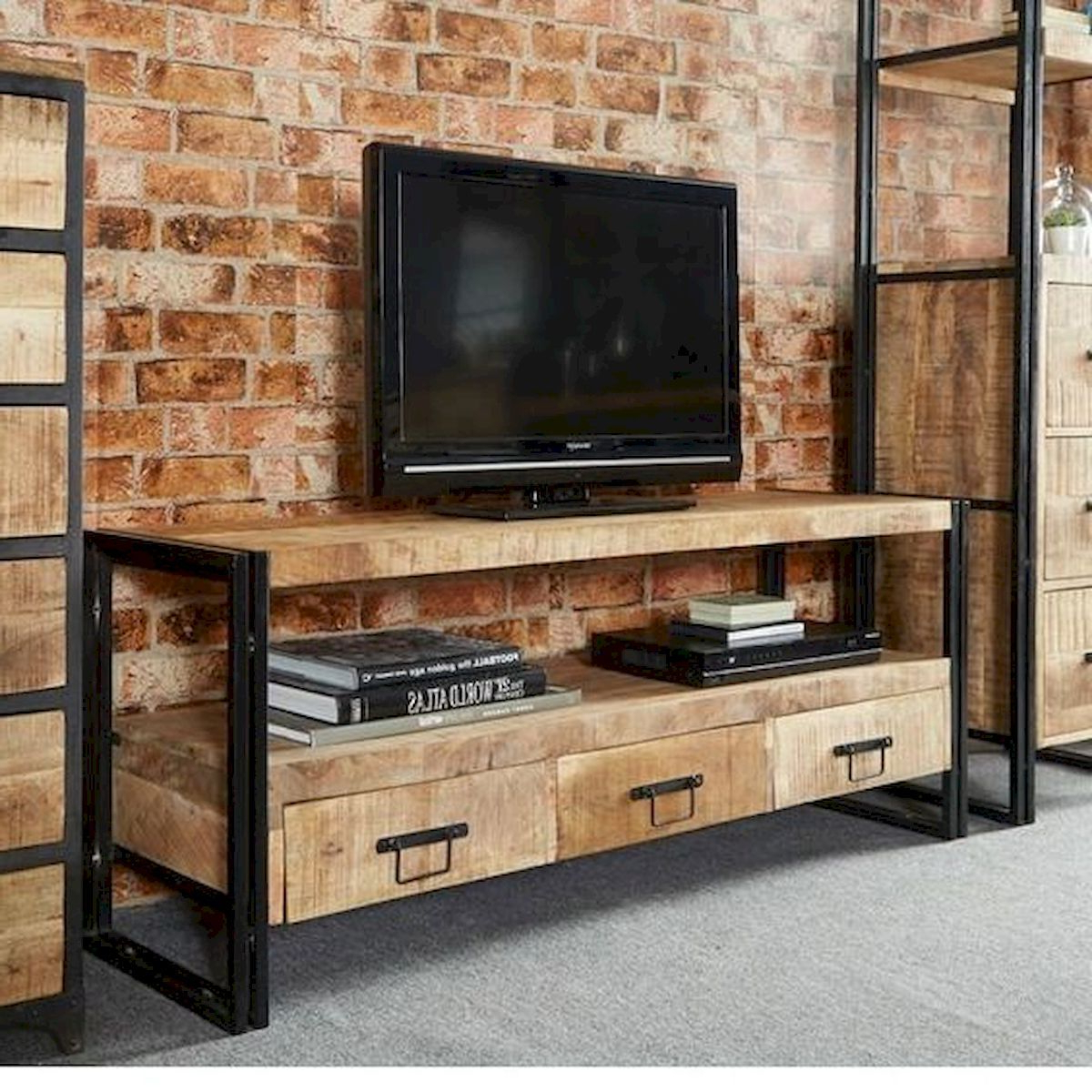 Popular 33 Best Farmhouse Living Room Tv Stand Design Ideas (View 15 of 20)
