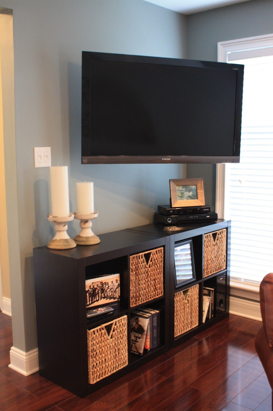 Popular Diy Tv Stand Plans Panel Designs For Living Room Ideas Small Spaces Regarding Tv Stands For Small Spaces (Gallery 11 of 20)