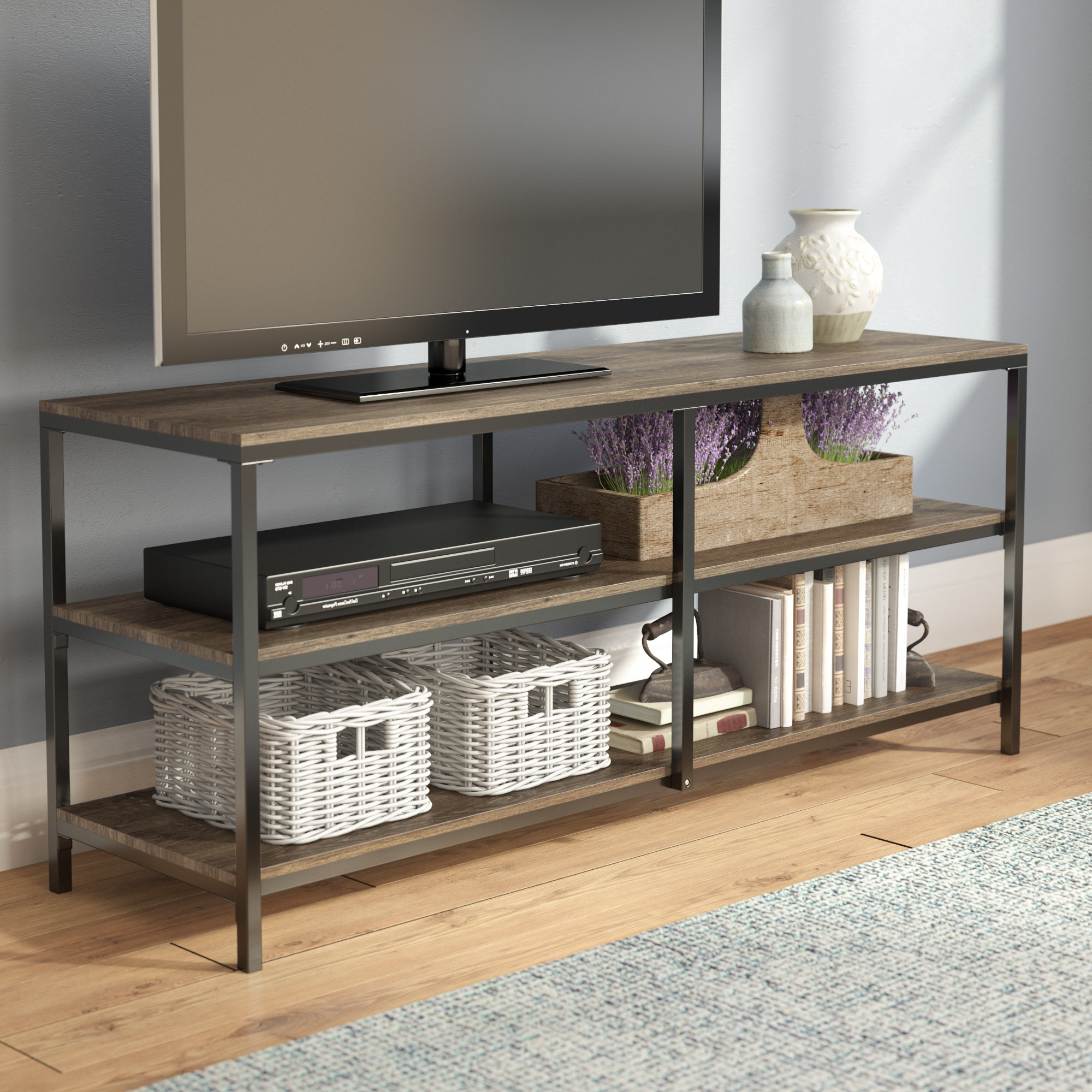 Popular Laurel Foundry Modern Farmhouse Forteau Tv Stand For Tvs Up To 60 With Comet Tv Stands (View 4 of 20)