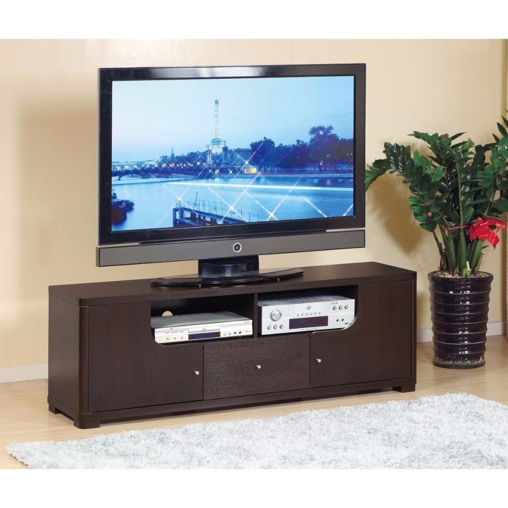 Popular Modern Style Tv Stands Inside Shop Modern Style Tv Stand With 1 Drawer And 2 Open Shelves (View 19 of 20)