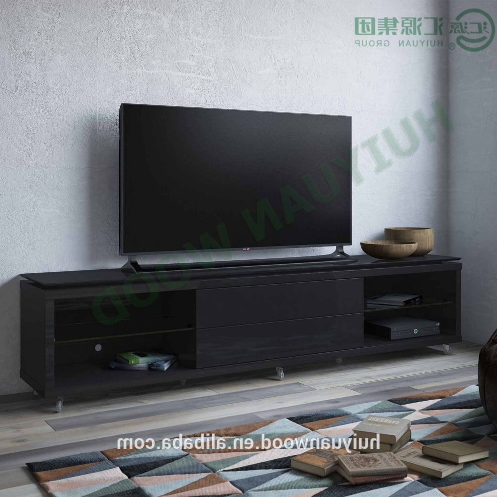 Popular Modern Wooden Tv Stands In Modern Wooden Tv Stand Storage With Casters For Plasma/led/lcd Tv (View 13 of 20)