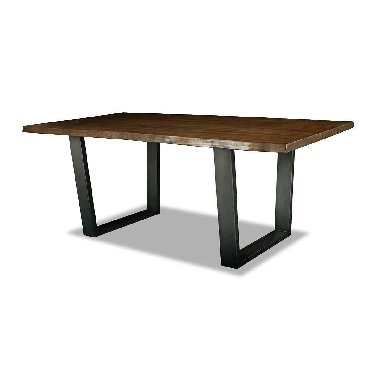 Popular Parsons Travertine Top/ Dark Steel Base Dining Tables Pertaining To Parsons Grey Solid Surface Top & Brass Base 48X16 Console Tables (View 17 of 20)