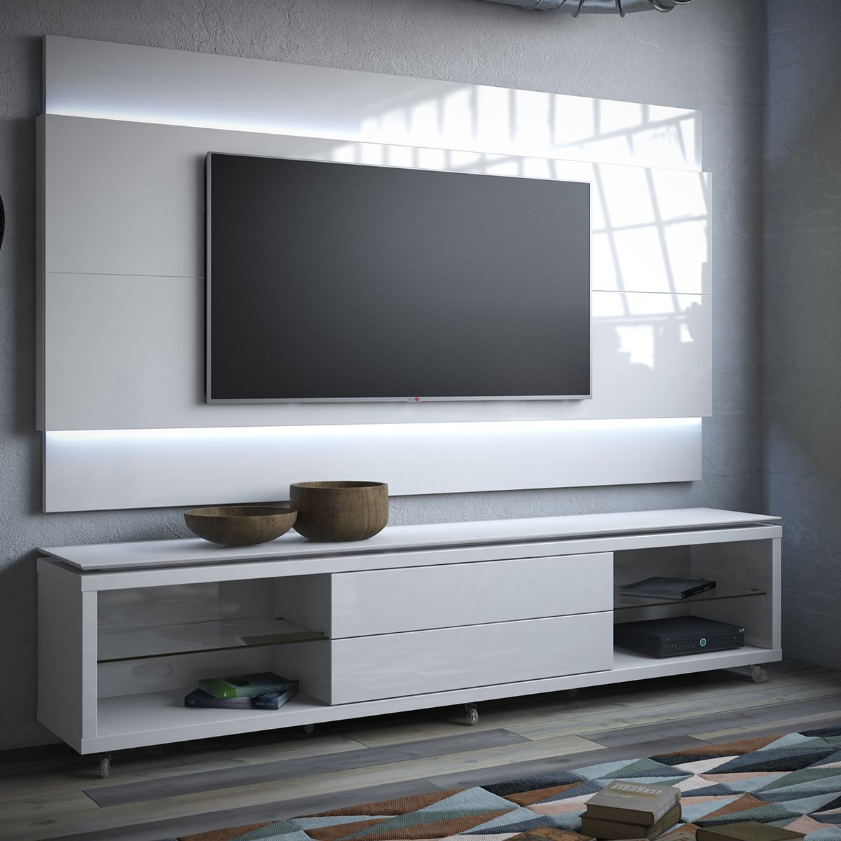 Popular Share And Save $5 Off Any Order Over $99. (Excludes A Few Products In Off Wall Tv Stands (Gallery 14 of 20)