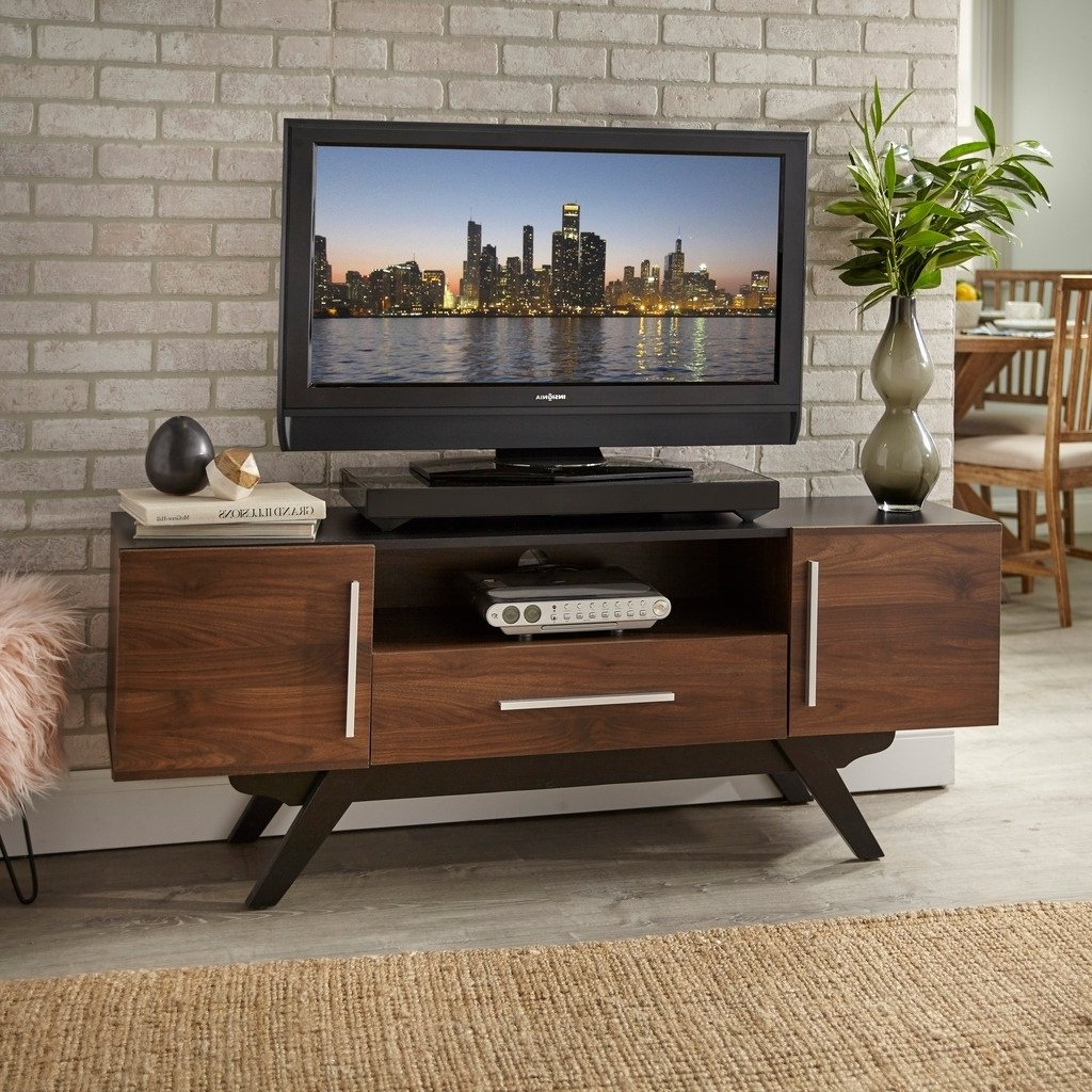 Popular Shop Carson Carrington Arendal Mid Century Tv Stand – Free Shipping Intended For Century White 60 Inch Tv Stands (View 13 of 20)