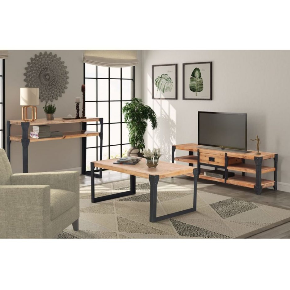 Popular Tv Stands Canada Tv Stand Table Set Low Profile Tv Stand Small Thin Pertaining To Tv Unit And Coffee Table Sets (Gallery 17 of 20)
