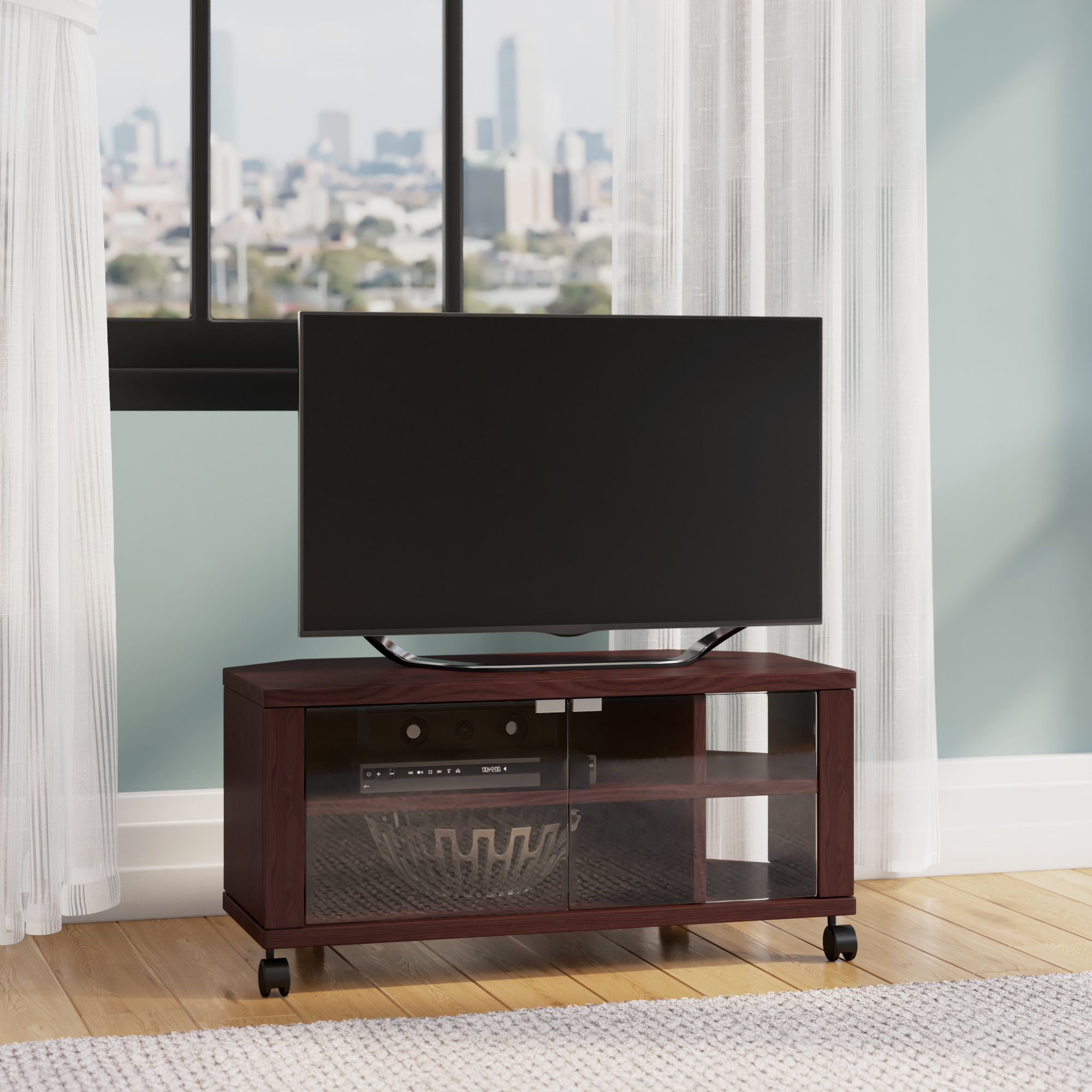 Popular Tv Stands On Casters (View 18 of 20)