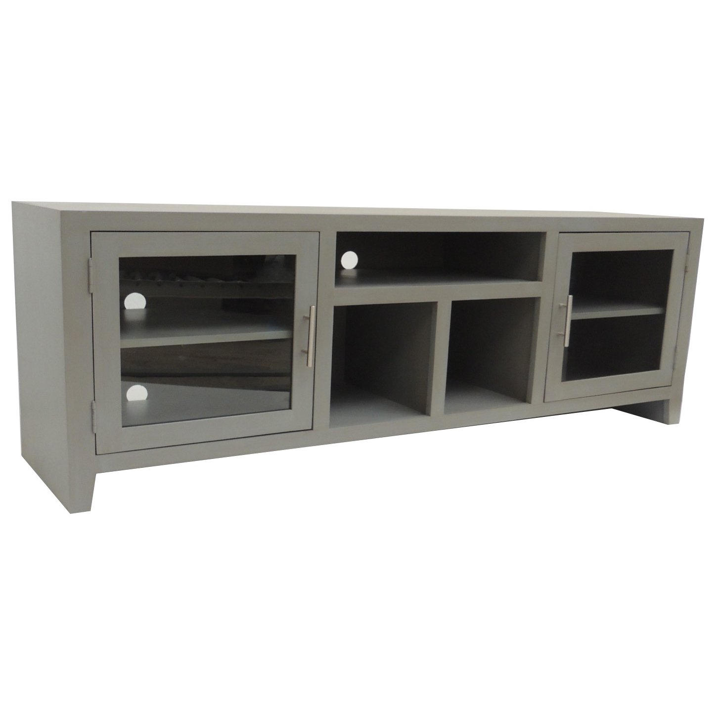 Preferred 65 Inch Gray Tv Stand (Gallery 8 of 20)