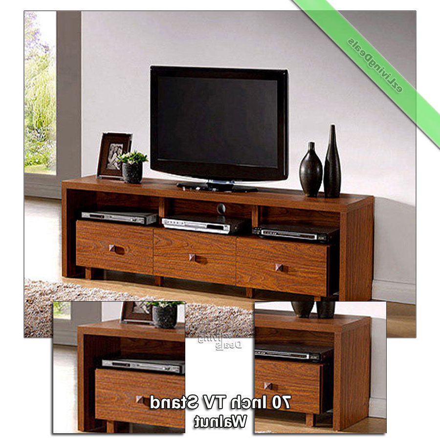 Preferred Annabelle Black 70 Inch Tv Stands In 70 Inch Tv Stand Entertainment Media Console Table Stands Console (View 18 of 20)