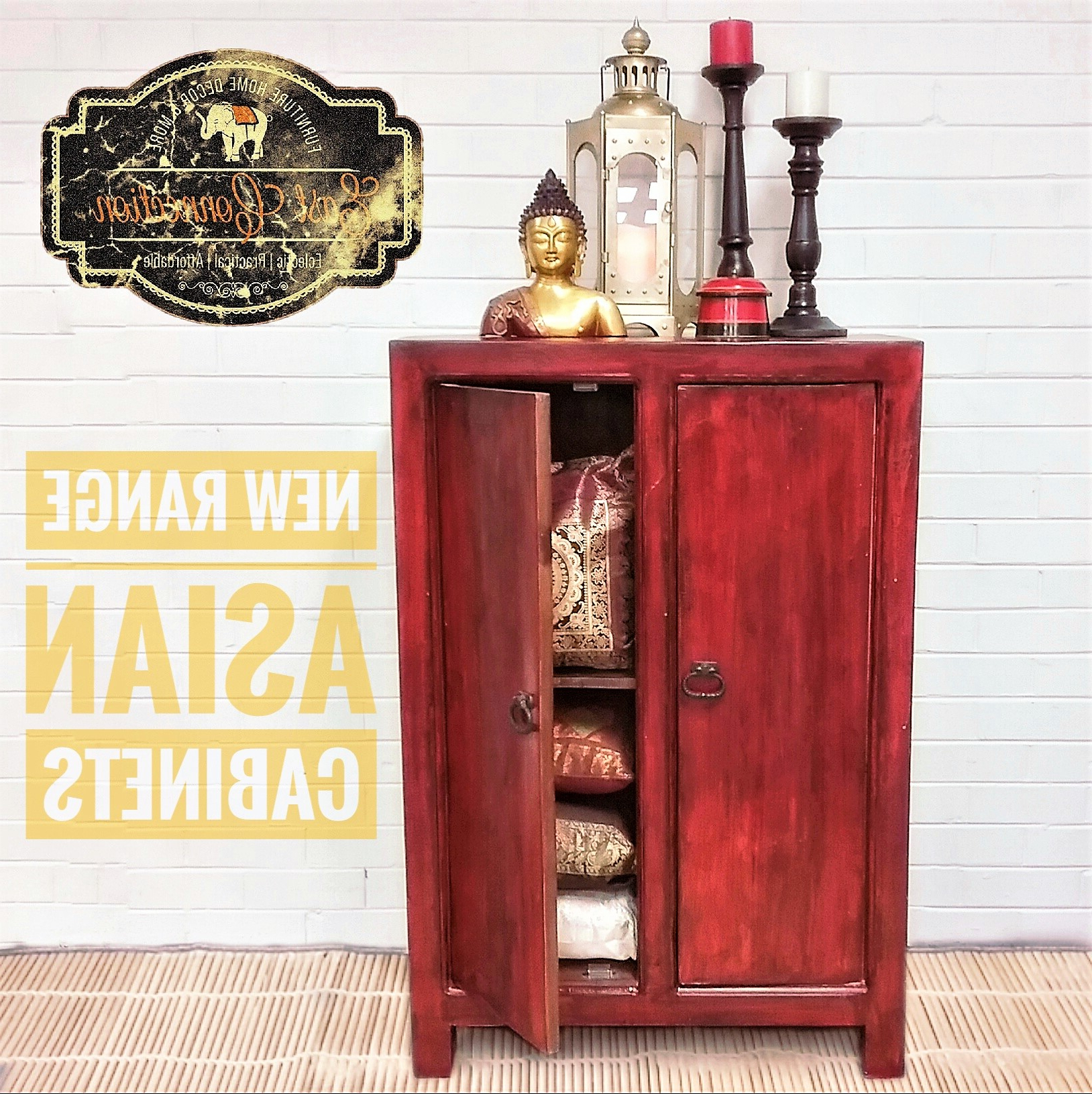 Preferred Asian Tv Cabinets For Asian Furniture, Oriental Furniture Décor – East Connection (Gallery 11 of 20)