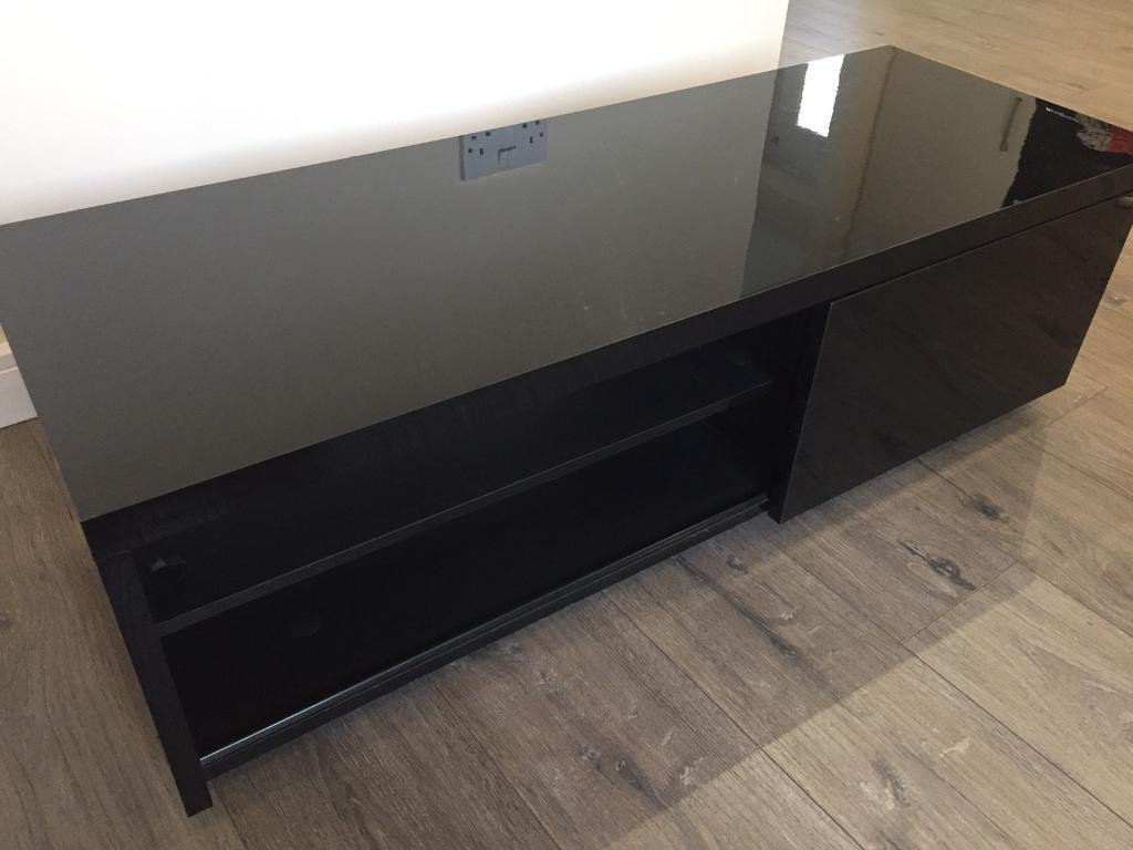 Preferred Black Gloss Tv Units Pertaining To Next Black Gloss Tv Unit (View 16 of 20)