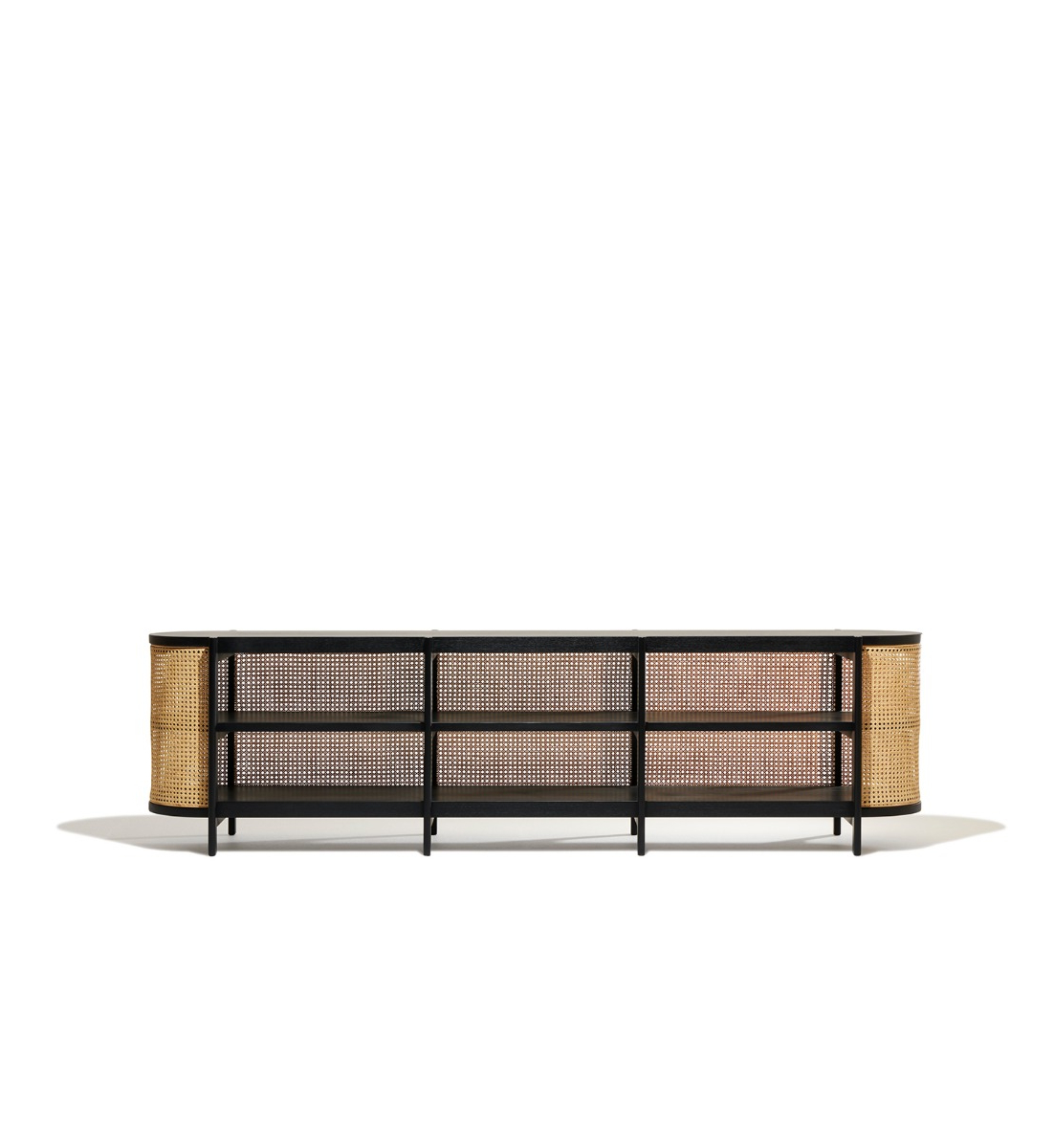 Preferred Cane Media Console Within Natural Cane Media Console Tables (View 14 of 20)