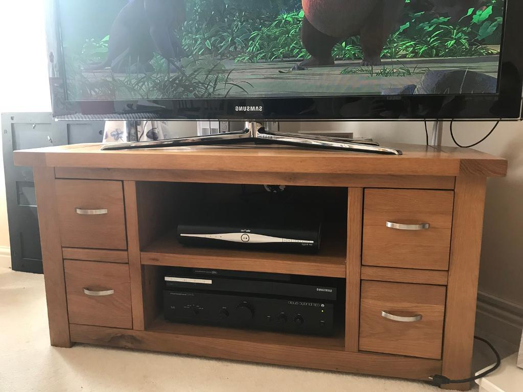 Preferred Corner Oak Tv Stand (View 20 of 20)