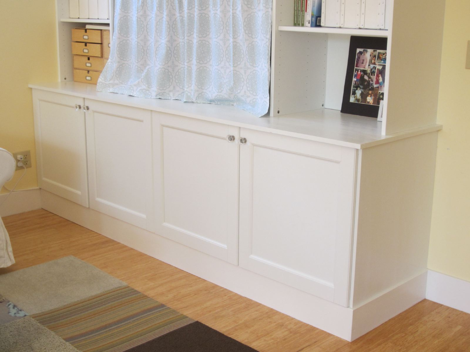 Preferred Ikea Built In Tv Cabinets Throughout Ikea Hack 2: Besta Built In Family Room Tv Bookshelf – Shirley (Gallery 19 of 20)