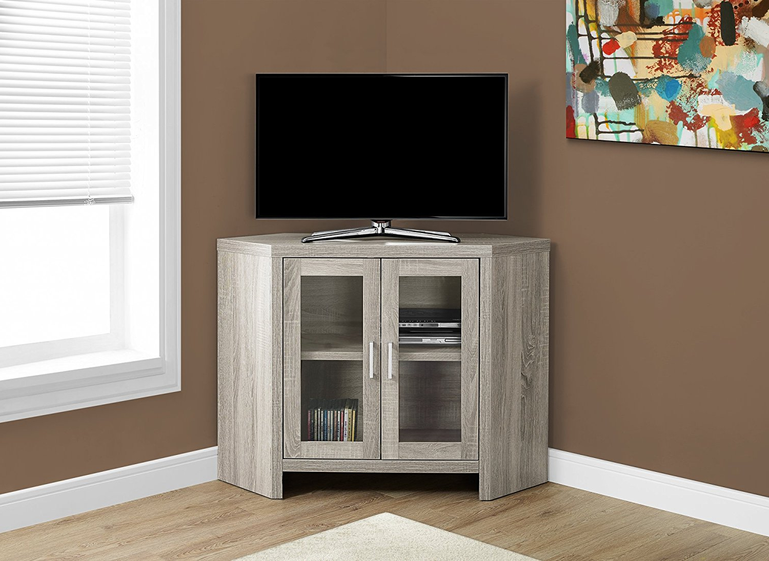 Preferred Low Corner Tv Cabinets With Regard To 25 Perfectly Small Corner Cabinet Ideas For 2019 (Kitchen, Tv, Curio (View 14 of 20)