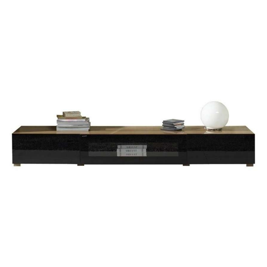 Preferred Low Tv Stand Sofauk Shiro Walnut Cabinet Black Profile Ideas Wood Within Long Low Tv Cabinets (View 11 of 20)
